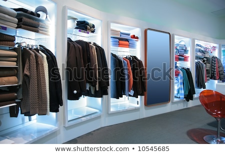 Stock photo: Upper Clothes In Shop