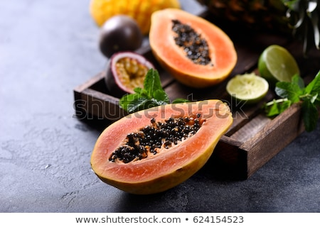 Papaya fruit Stock photo © bbbar