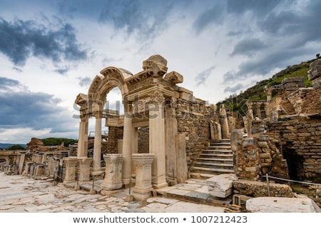 Stock photo: The old ruins of the city of Ephesus