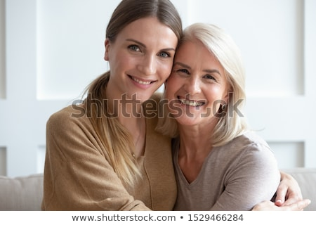 two european women looking on camera stock photo © leedsn