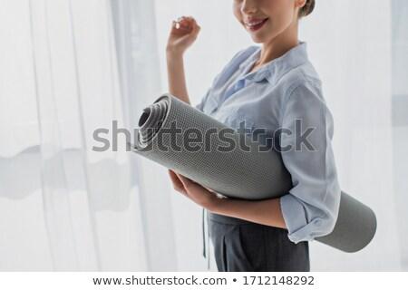 фитнес деловая женщина молодые женщину девушки Сток-фото © bluefern