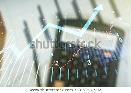 grafico · a · barre · finanziaria · giornale · business · carta · news - foto d'archivio © 4designersart