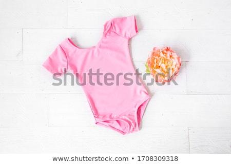 かなり · 小さな · 女性 · 動物 · 印刷 · 少女 - ストックフォト © disorderly