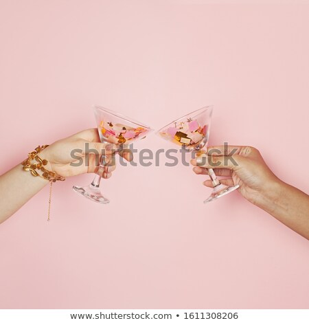 Hands holding wine glasses Stock photo © photography33