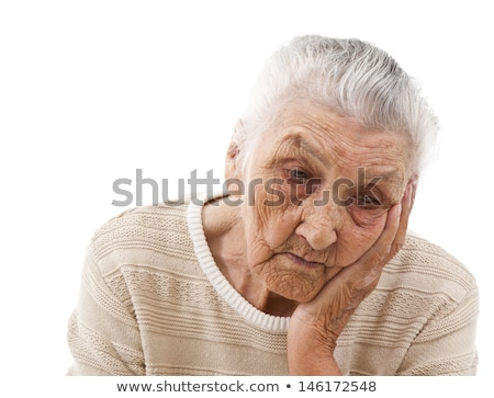 old lady suffering from headache stock photo © photography33