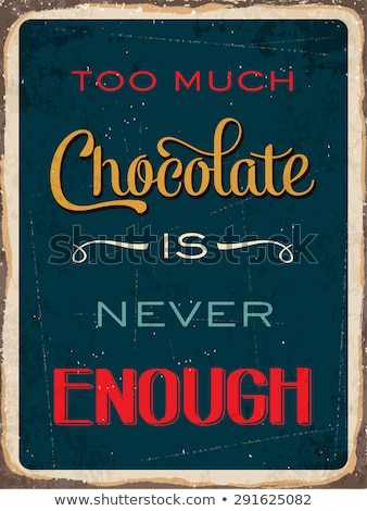 Never enough chocolate. Stock photo © lithian