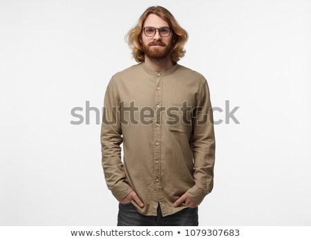 Male model half length shot  Stock photo © get4net