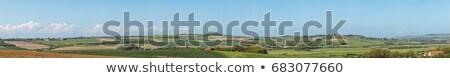 Alanları panorama madencilik gökyüzü sanayi panoramik Stok fotoğraf © THP