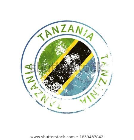 письме Танзания служба бумаги аннотация дизайна Сток-фото © perysty
