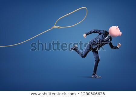 piggy-bank in noose - concept Stock photo © ozaiachin