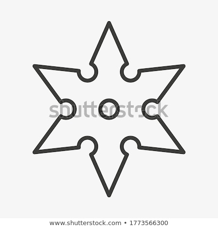 Shuriken Stock photo © unkreatives