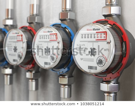 meter for water Stock photo © OleksandrO