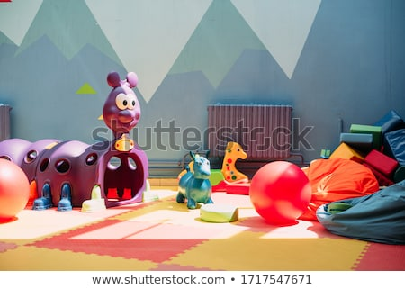 Boisko zabawki kroki wody baby Zdjęcia stock © samsem
