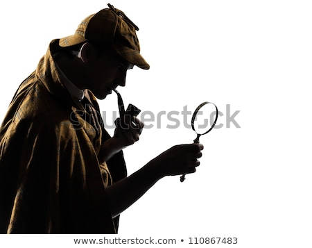 man in Sherlock Holmes costume Stock photo © photography33