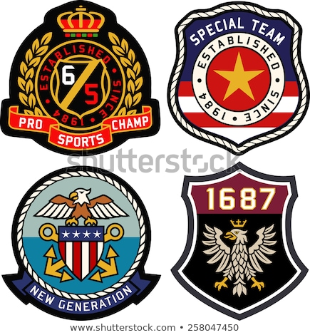 emblem badge shield stock photo © creative_stock