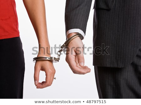 Business person handcuffed Stock photo © wavebreak_media
