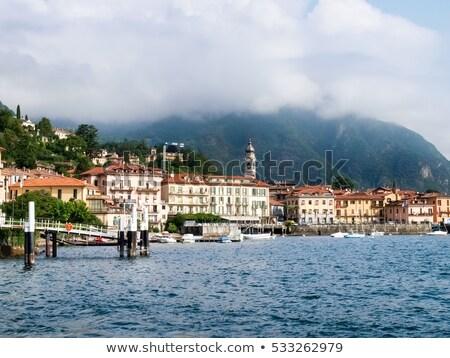 iniş · sahne · göl · İtalya · su · seyahat - stok fotoğraf © haraldmuc