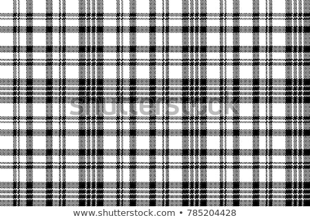 Seamless retro white-black square tablecloth Stock photo © PiXXart