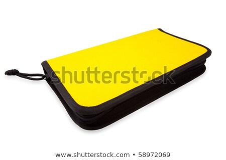Saco cd isolado branco computador fundo Foto stock © gavran333