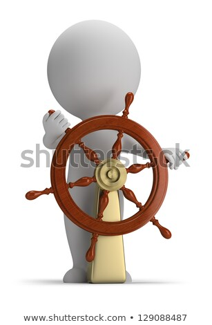 3d small people - helm Stock photo © AnatolyM