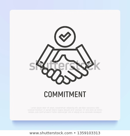 Commitment Stock photo © pressmaster