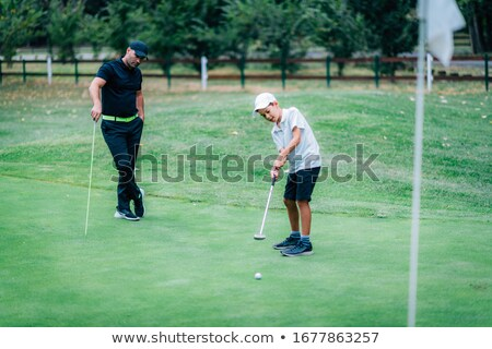 Golf  school lessons Stock photo © Lightsource
