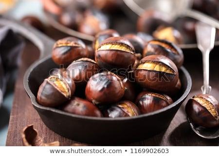 Jadalny słodkie nice naturalnych żywności powłoki Zdjęcia stock © jonnysek