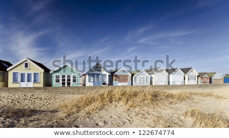 Plage cracher bateaux sable tête été Photo stock © flotsom