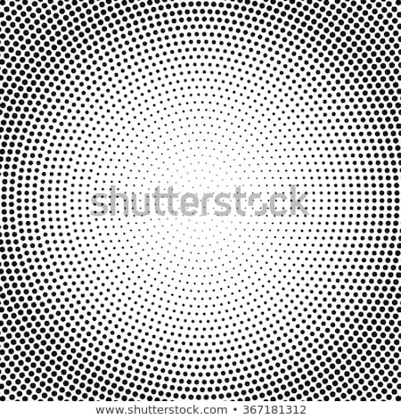 radial dotted pattern stock photo © ptichka