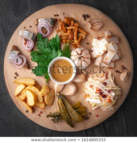 Herring Snack Stock photo © zhekos