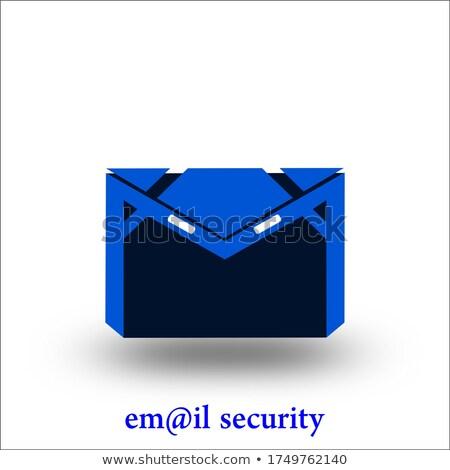 Dotación signo correspondencia web mail Foto stock © stuartmiles