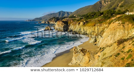 Photo stock: Californie · côte · vue · océan