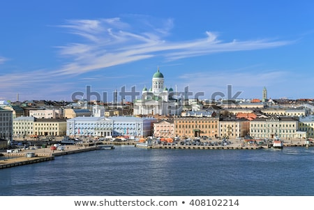 Blue Sea and Sky in South of Finland Stock photo © tainasohlman