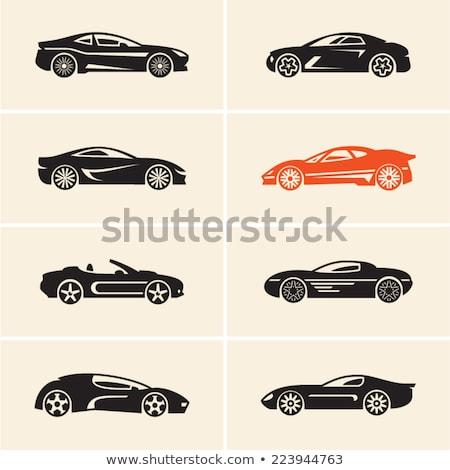 sports car - sign/symbol  Stock photo © djdarkflower