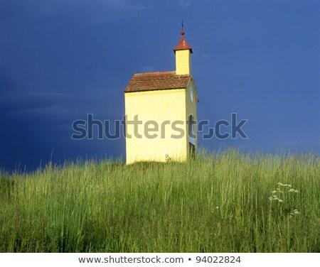 chapel near Liba, Czech Republic Stock photo © phbcz