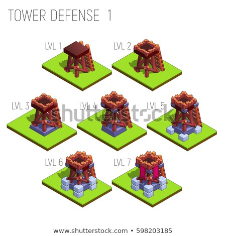 old defensive tower Stock photo © Marfot