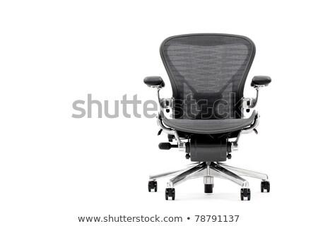 одиноко офисные кресла за пределами красный кирпичная стена служба Сток-фото © actionsports