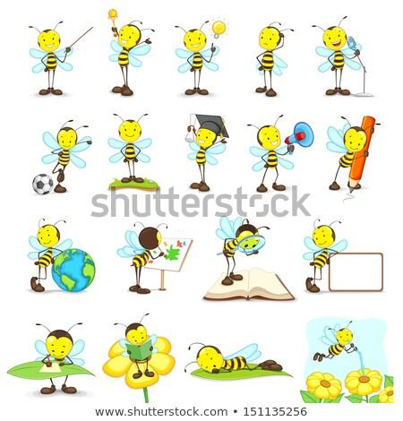 Bumble Bee Painter Stock photo © derocz