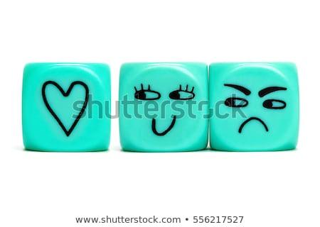 Liefde haat afbeelding kiezen liefhebbend woorden Stockfoto © stevanovicigor