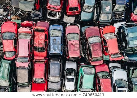 velho · carros · carro · reciclagem · metal · indústria - foto stock © oleksandro