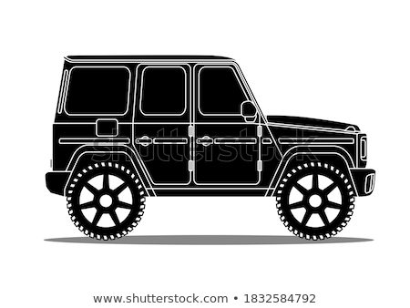 Sport utility vehicle Stock photo © Supertrooper
