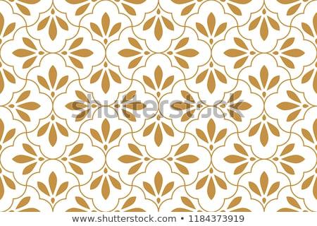 Seamless decorative ornate pattern Stock photo © elenapro