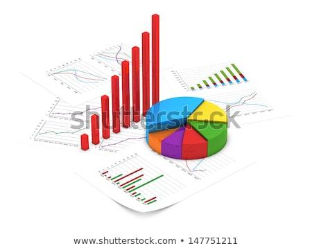 Sukces wykres strony wykonawczej pracownika etapie Zdjęcia stock © FrameAngel