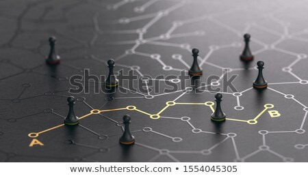 solution path stock photo © lightsource