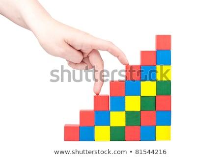 Hand Climbing Upstairs Сток-фото © Taigi
