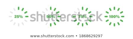 クロック ベクトル 緑 ウェブのアイコン ボタン ストックフォト © rizwanali3d