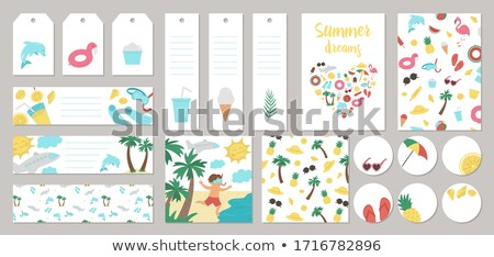 Stock photo: Summer Labels Set