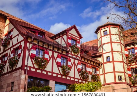 nuremberg castle stock photo © rudi1976