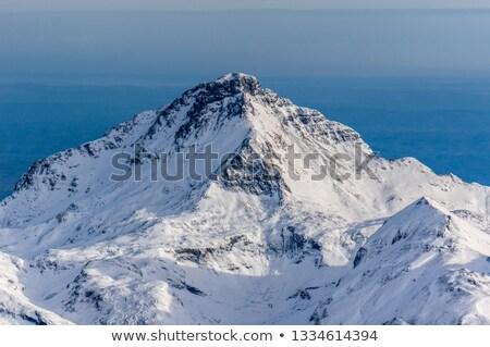 Szczyt widoku południowy naturalnych parku Zdjęcia stock © pedrosala
