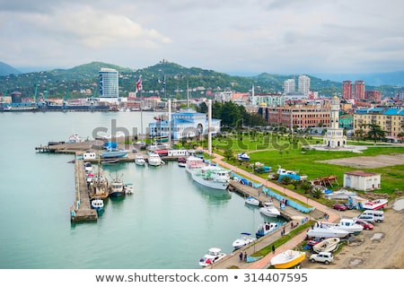 Sea port of Batumi, Georgia Stock photo © joyr
